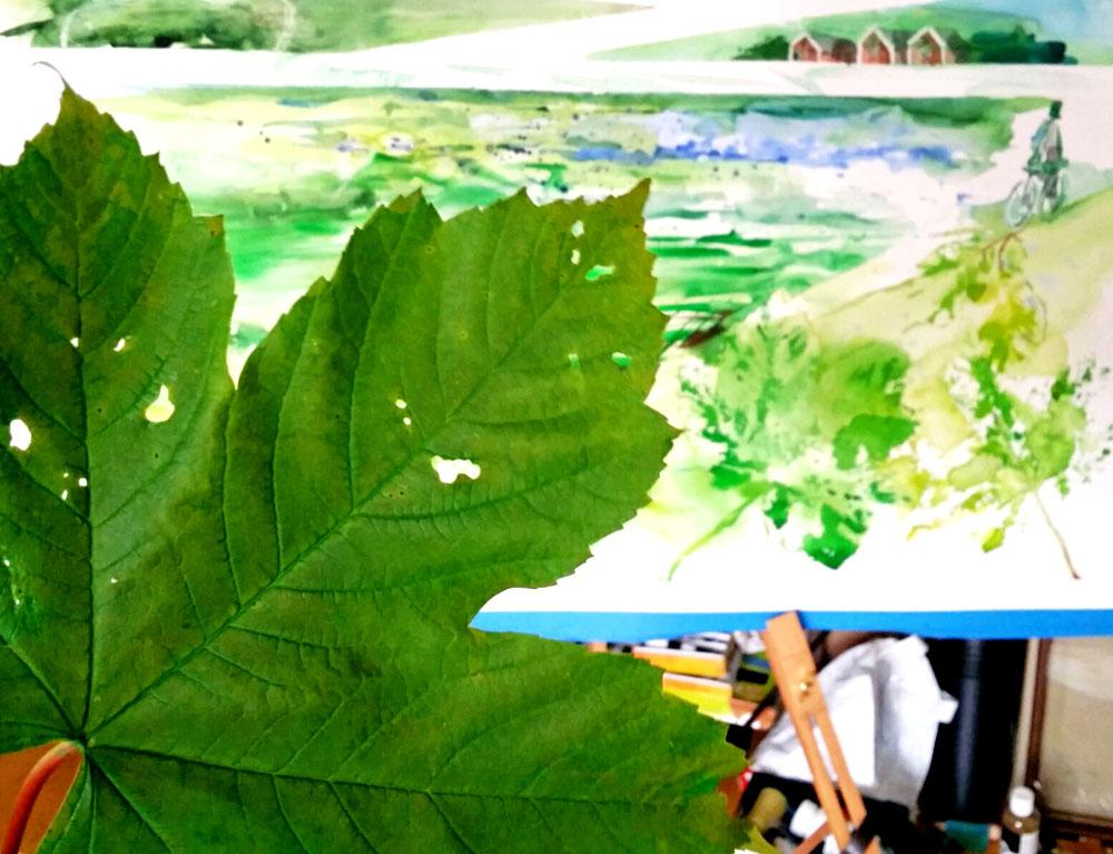 Green-life-Mixed-media-Lana-Leuchuk-2016-detail-1