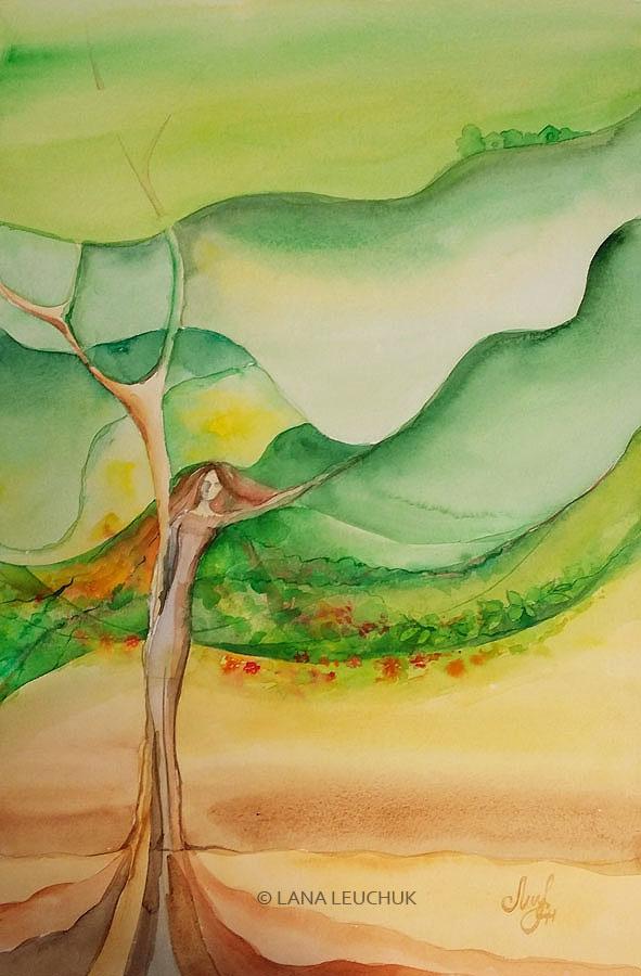 Lady-Earth-art-by-Lana-Leuchuk