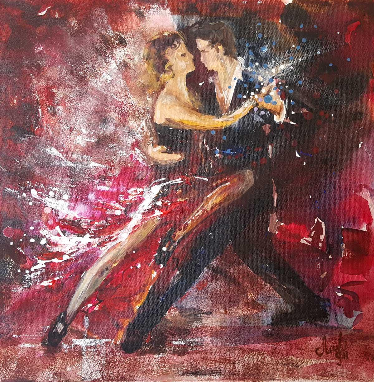 Tango-5-acrylic-painting-byLana-Leuchuk