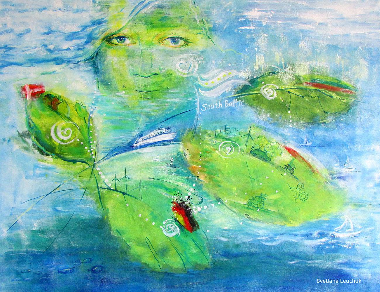 painting-by-Svetlana-Leuchuk-SouthBalticProgramme-2015