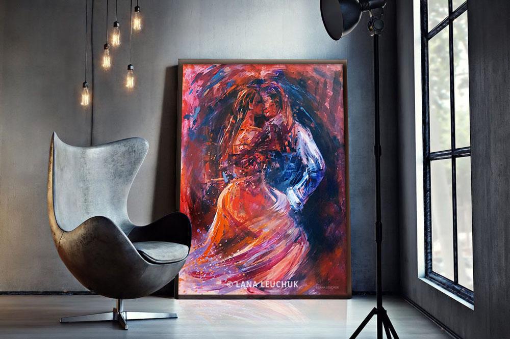 wall-art-Life is a Dance-painting-by-Lana Leuchuk