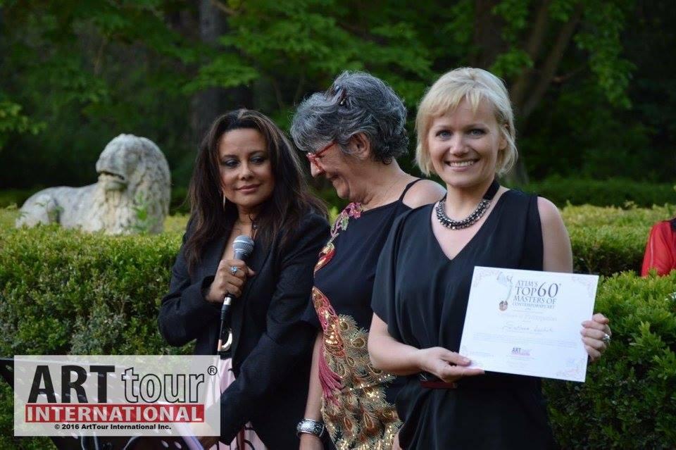 Montagnac-France-award-ceremony-2016-artist-svetlana-leuchuk-2