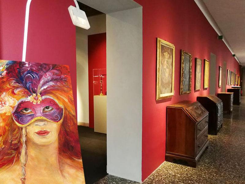 The Girl Behind The Mask-Museum-Mantova-SVETLANA LEUCHUK