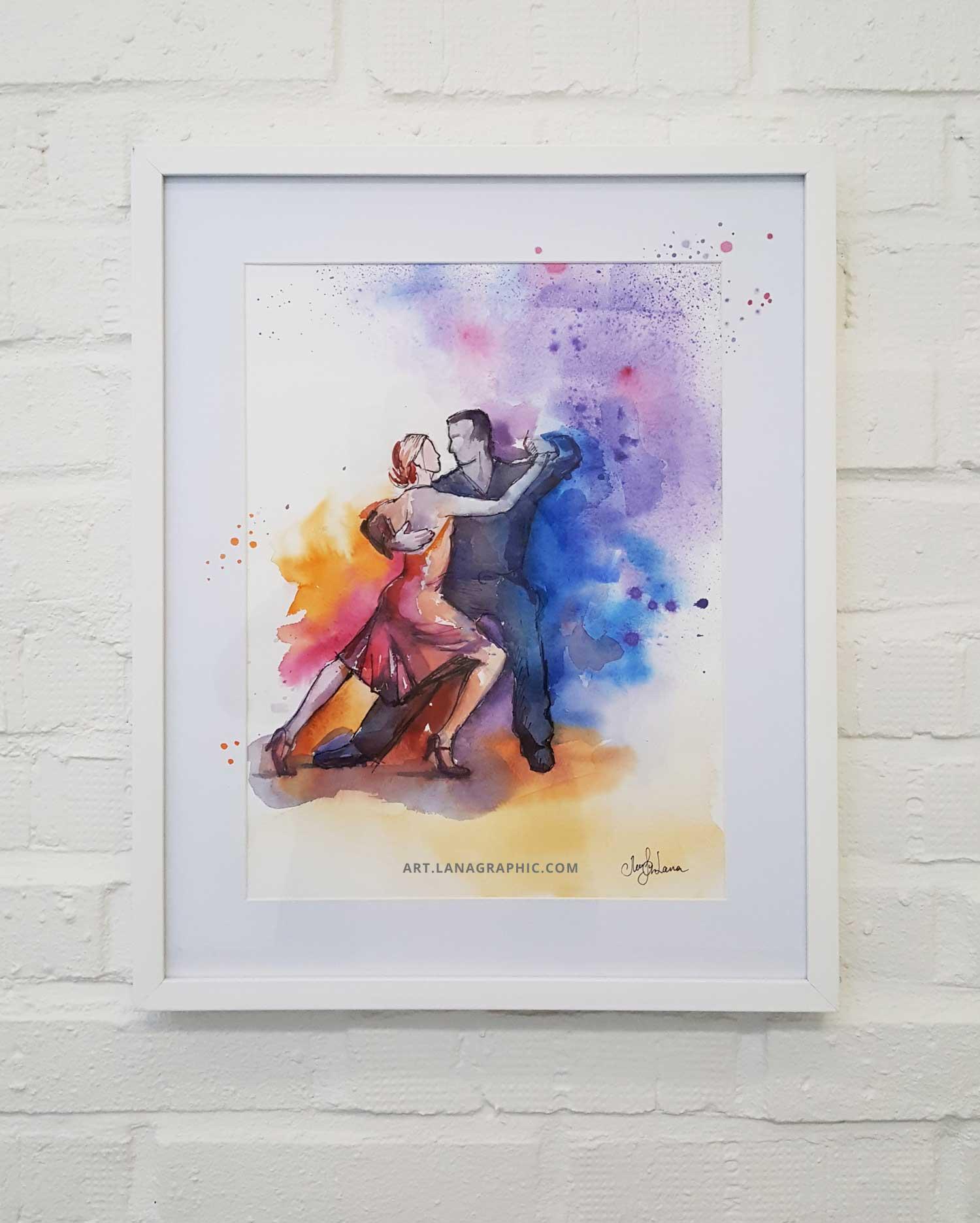 wall-art-Lana-Leuchuk-Let's-dance-2018