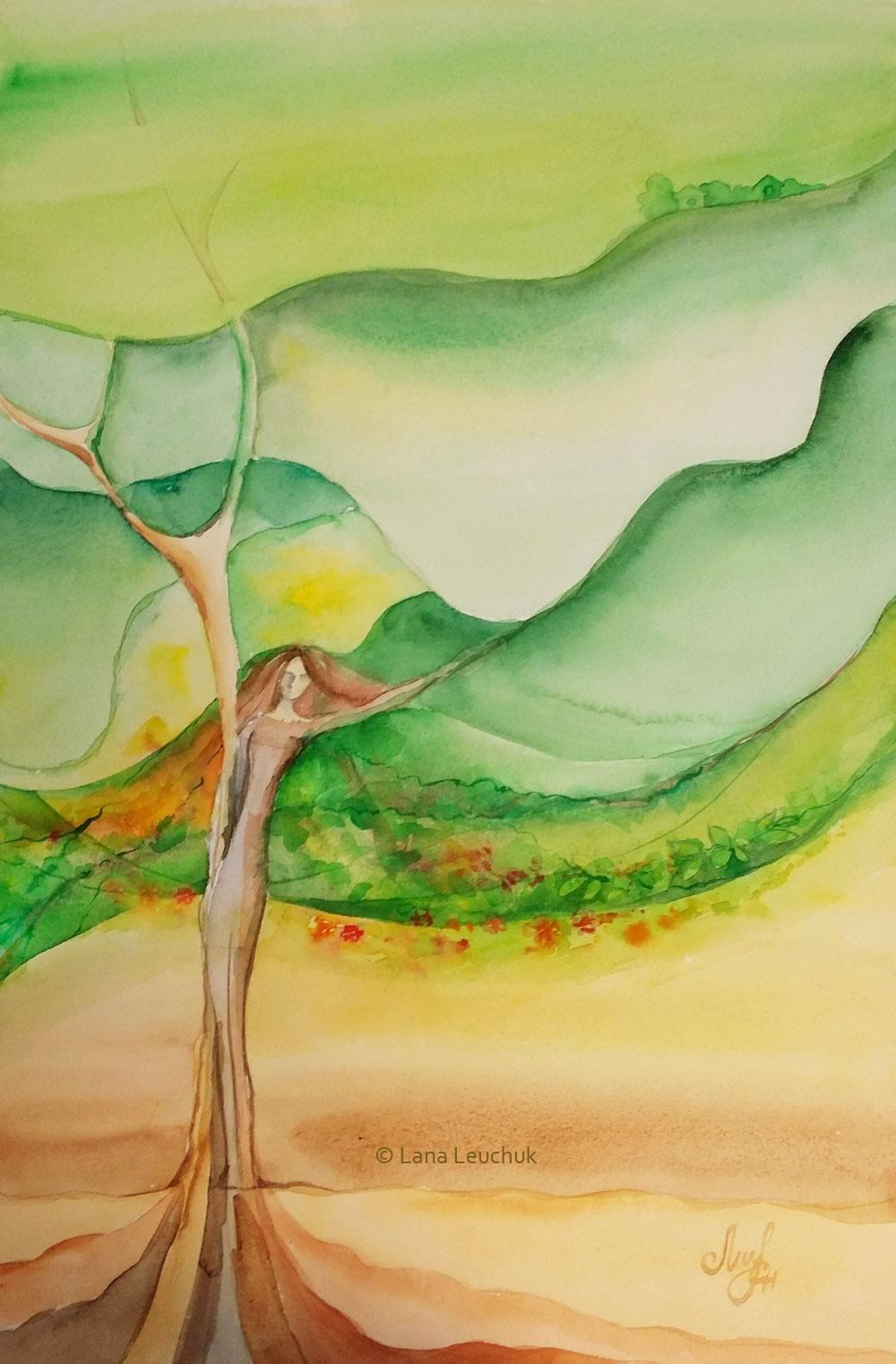 Lady-Earth-art-by-Lana-Leuchuk-Lanagraphic