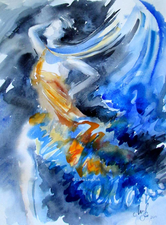 Lady-Water-art-by-Lana-Leuchuk-Lanagraphic