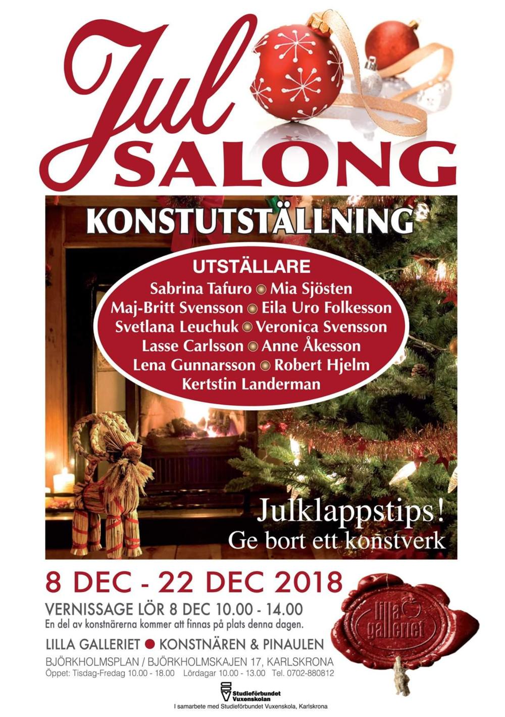 julsalongen-konst-karlskrona-Lilla galleriet