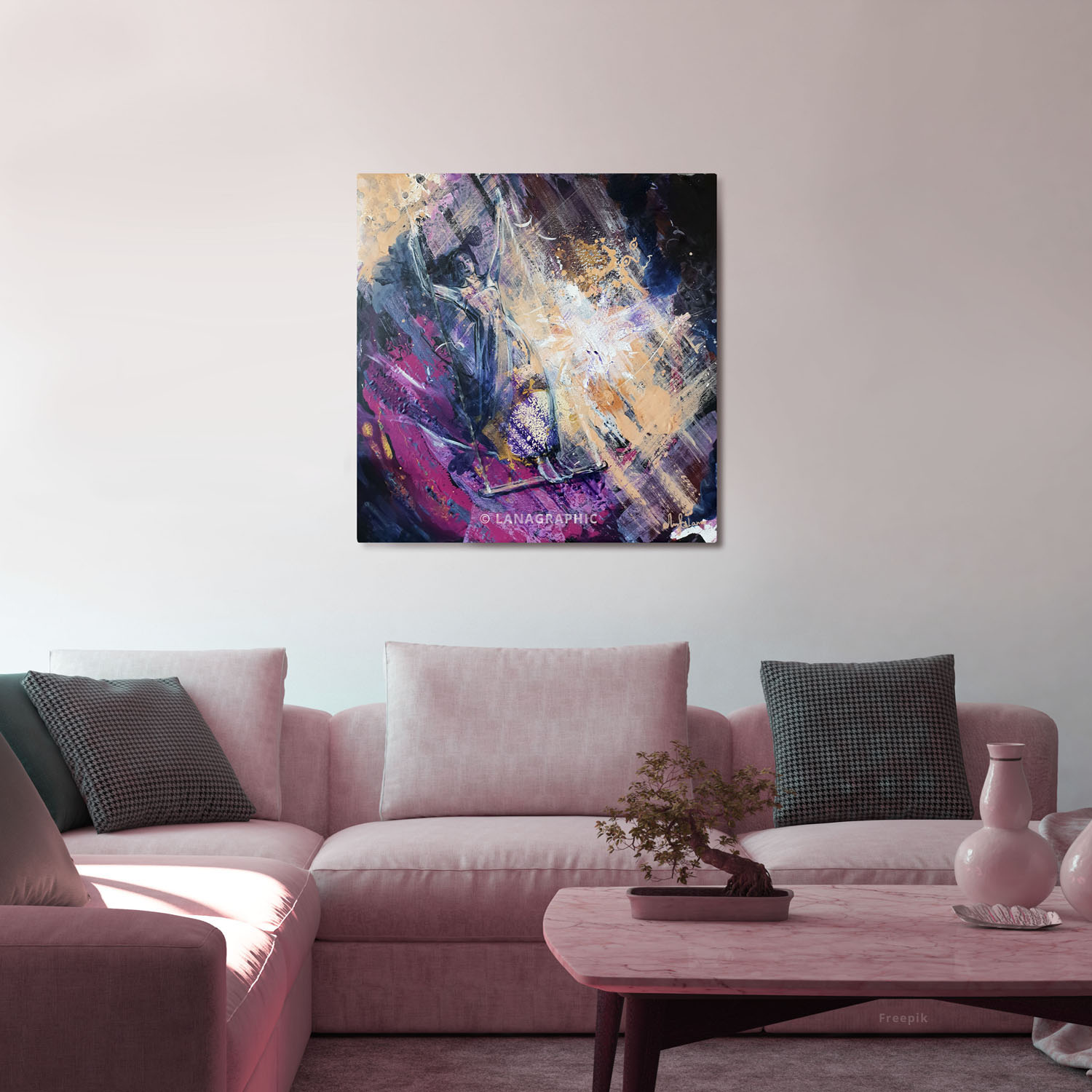 art-in-interior-Challenging the Limits-Lanagraphic
