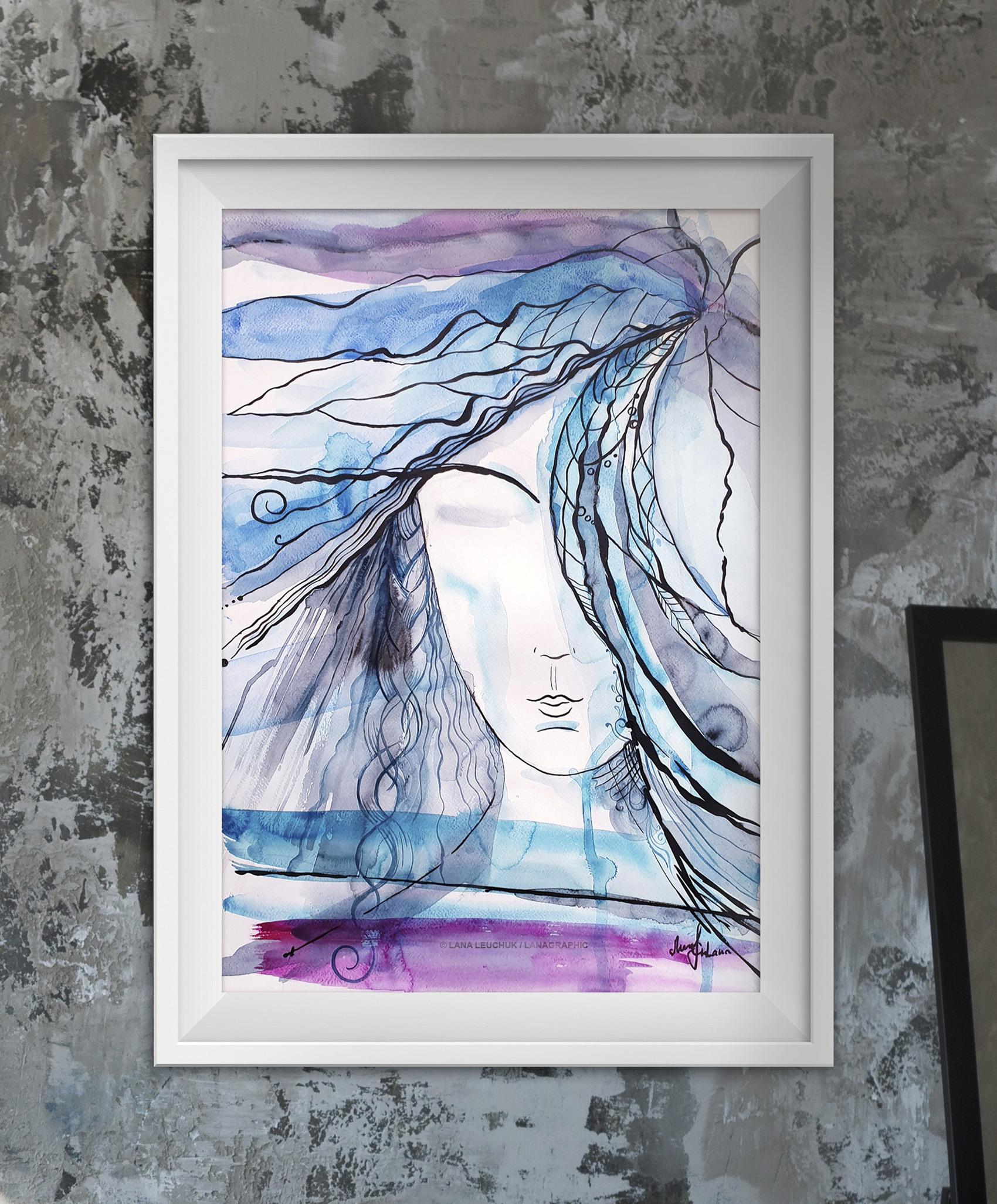 We just need a little-2-artwork by Svetlana Leuchuk-framed