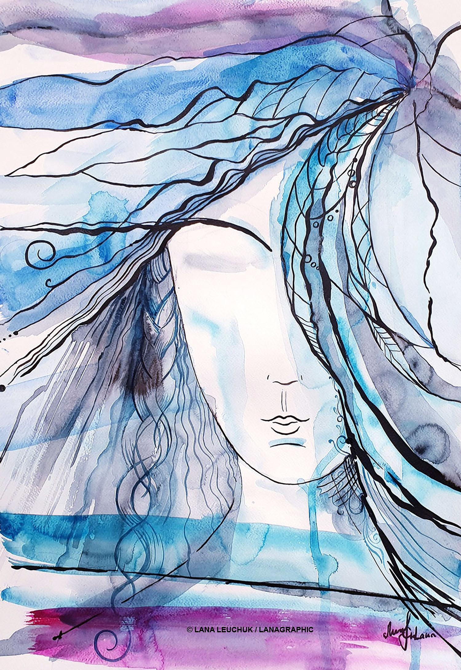 artwork by Lana Leuchuk-We just need a little-2