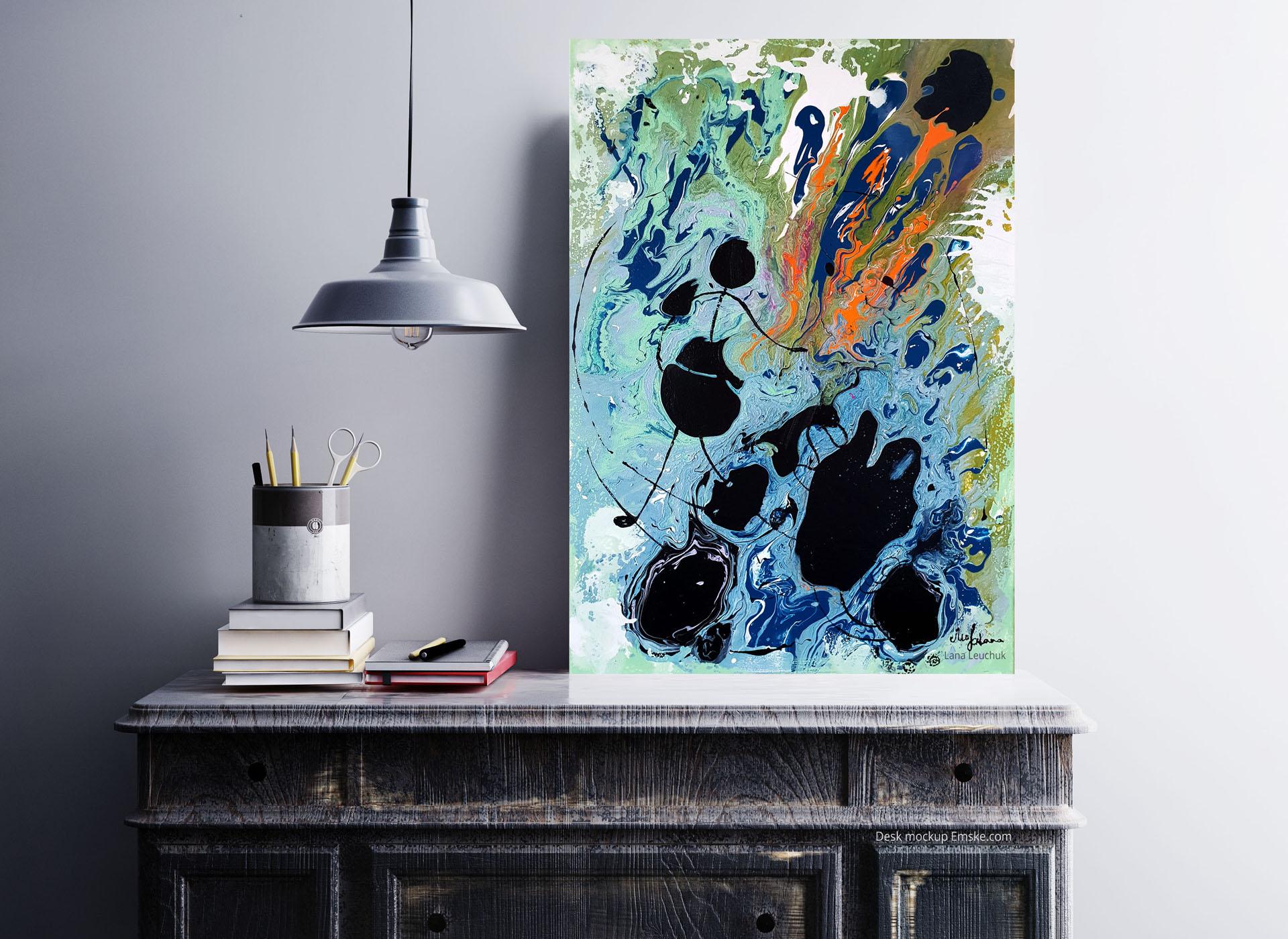 art-in-interior-Movements-by-Lana Leuchuk